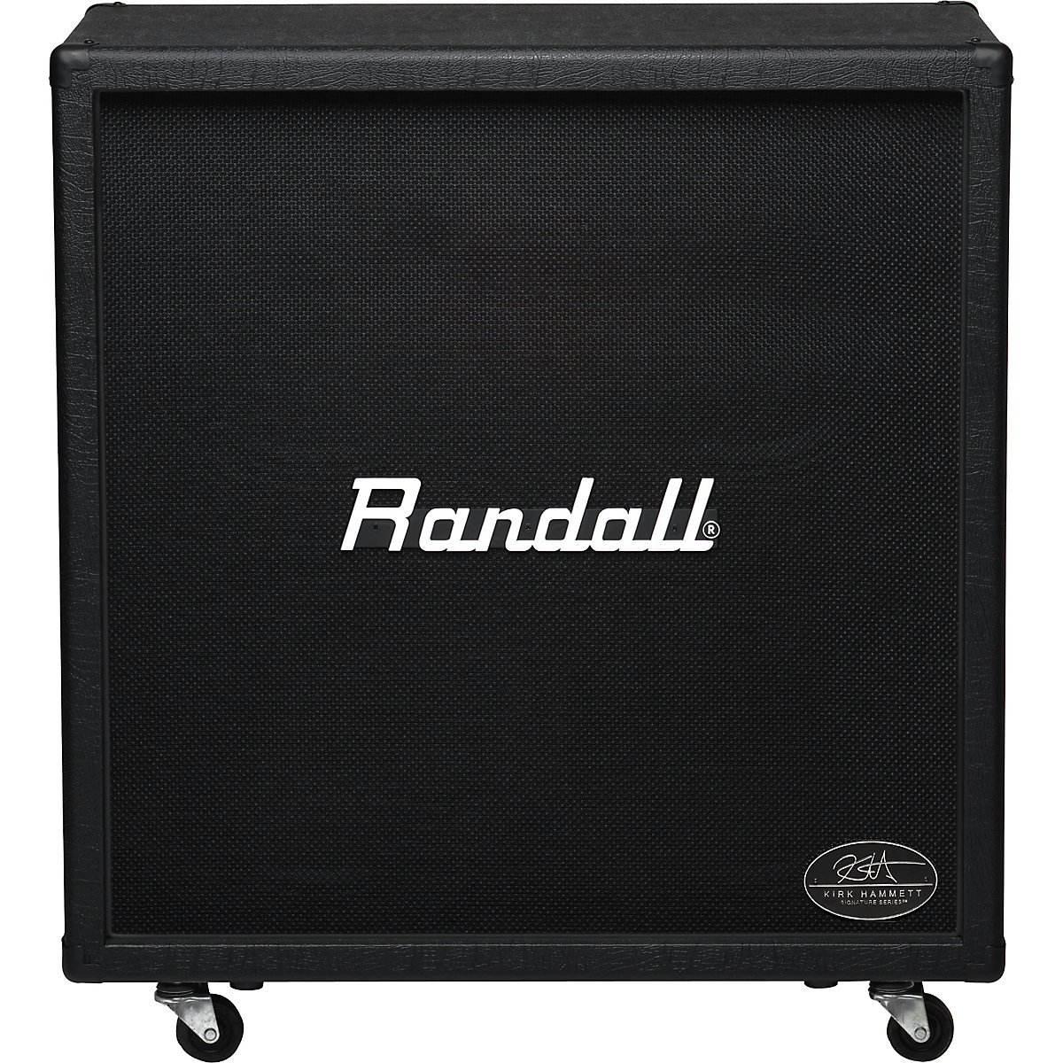 the Randall KH412 4x12 Kirk Hammett signature speaker cab