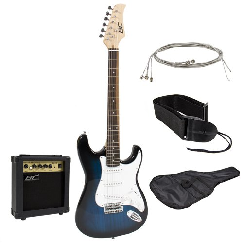 best choice beginner pack in blue with amp