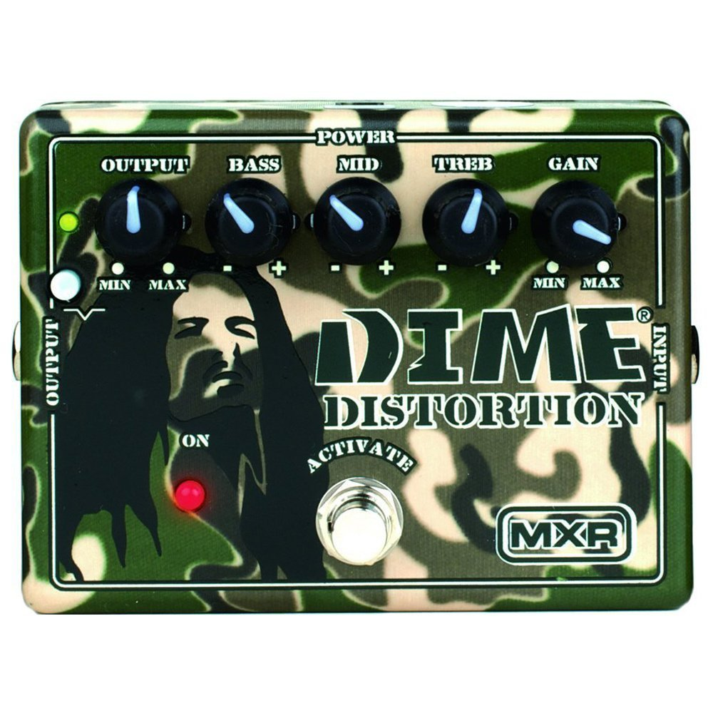 The MXR DD-11 Dime Distortion pedal from Jim Dunlop