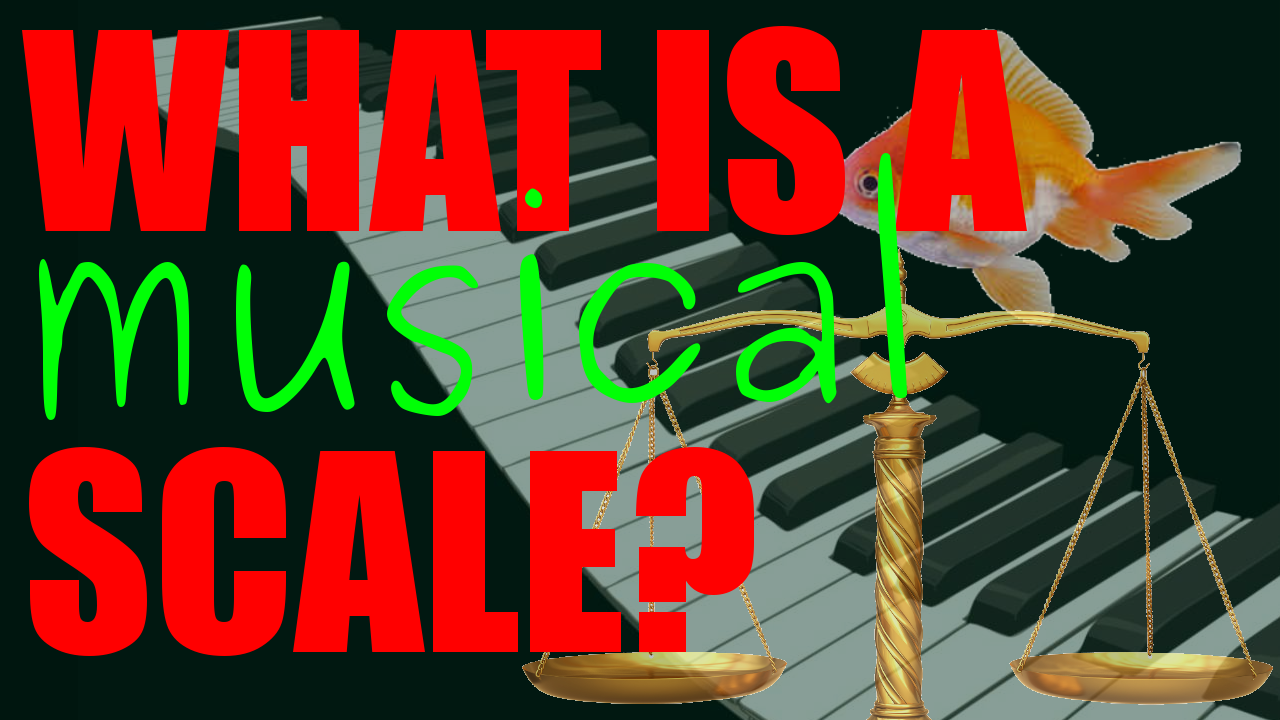 What is a scale in music?