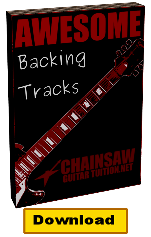 awesome backing tracks taken from my lead guitar lesson e-book