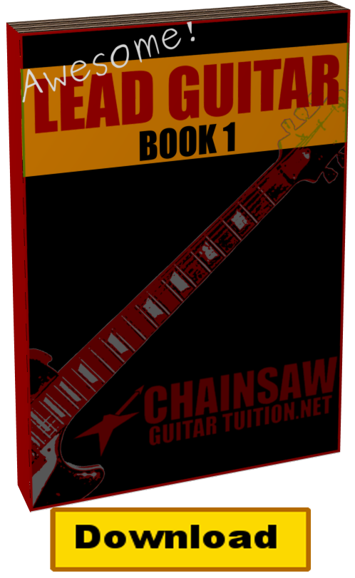awesome lead guitar book 1