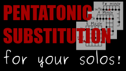 pentatonic-substitution